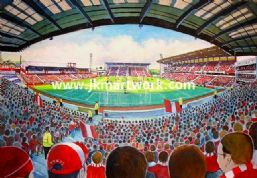 Hand Painted original of oakwell